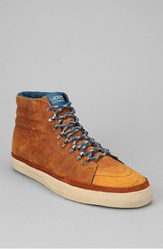 68b57b9ce77 Shop Vans California Leather Hiker Shoe at Urban Outfitters today.