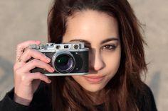 New Jupiter 3+ Art Lens, Girls With Cameras, Antique Cameras, Lomography, Female Photographers, Bokeh, Lady, Vintage, Vintage Comics