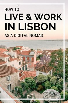 Thinking about living and working in Lisbon as a digital nomad? Find an apartment, coworking space, and learn about local sights with this helpful guide. // Jen On The Run -- Europe On A Budget, Europe Travel Guide, Europe Destinations, Travel Guides, Honeymoon Destinations, Visit Portugal, Portugal Travel, Travel Insurance Quotes, Day Trips From Lisbon
