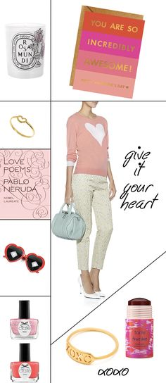 Heart Themed and Pink Lifestyle Items Inspired by Valentine's Day!