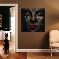 Yağlı Boya ve Akrilik Resim / #Oil and #Acrylic #Painting by Tugba Hacısuleymanoglu | #homedecor #icmimari #tasarım #dizayn #tablo