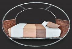 King Mood Rocking Bed w/ sheet set in Bamboo, HOMESOURCE