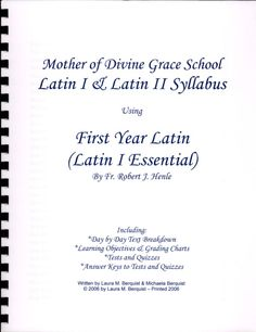 Mother of ine grace latin i amp ii