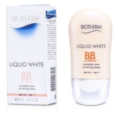 #Biotherm #Liquid White BB Cream SPF50 PA+++ 30ml/1.01oz A multi-tasking BB cream Features a tinted, ultra-fine & oil-free formula Enriched with mineral pigments ...