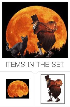 """""""Pumpkin Heist"""" by sjlew ❤ liked on Polyvore featuring art"""