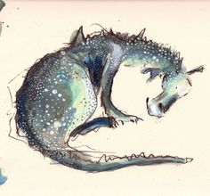 Catherine Rayner - 'Sylvia' sketchbook image