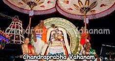 Processional Deities of Venkateswara Swamy Takes a Plesent Ride on Chandraprabha Vahanam | Temples In India Info