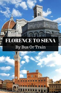 Wondering how to get from Florence to Siena? On this post, you will learn how to get from Florence (Firenze) to Siena by bus and by train. Coach Travel, Bus Travel, Travel Pics, Train Travel, Travel Advice, Asia Travel, Travel Guide, Bus Und Bahn, Italy Train