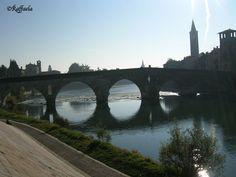 La Bella Verona Ponte Pietra uno dei miei posti preferiti ;-)
