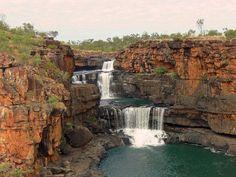 Водопад Митчелл (Mitchell Falls), Австралия   #Австралия #Митчелл