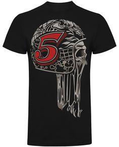 UK's largest range of Hot Rod, Biker, Kustom Kulture clothing and accessories Skull, Motorcycle, Hot, Mens Tops, T Shirt, Clothes, Black, Fashion, Supreme T Shirt