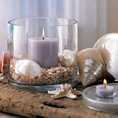Great decor for beach house, ocean themed room or wedding....  PartyLite Candles 3 in 1 Elevated Candle Holder  #:  P90818    http://www.partylite.biz/sites/nikkihendrix/productcatalog?page=decoratingIdeas&diPage=1