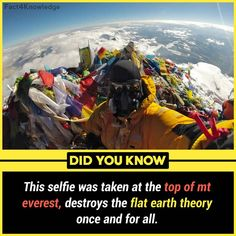 I'm just saying, flat earth theory makes no sense. Feel free to explain it to me if you want to Wow Facts, Real Facts, Wtf Fun Facts, Funny Facts, Random Facts, False Facts, True Facts, Funny Memes, Jokes
