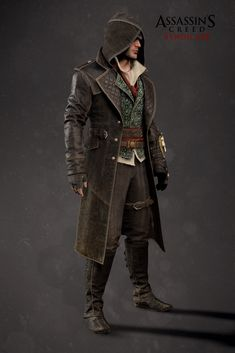 Assassin's Creed Syndicate - Jacob Outfit 03, Mathieu Goulet on ArtStation at https://www.artstation.com/artwork/P4Wx3