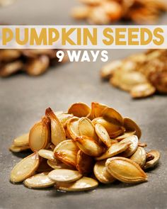 Here's 9 different ways to make pumpkin seeds taste DELICIOUS!