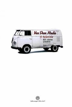 The Print Ad titled VOLKSWAGEN VAN was done by DDB & Tribal Amsterdam advertising agency for product: Volkswagen Vans (brand: Volkswagen) in Netherlands. It was released in the Jan 1999.
