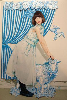 higuchiyuko:  Palm meison 009 コラボした時の動画です。ヒグチユウコの作品つかっていただいてます!  http://www.youtube.com/watch?v=uHmScm4TfAsfeature=youtube_gdata_player    https://www.facebook.com/burnetmoth  ヒグチユウコ Yuko higuchi