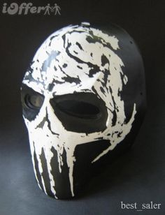 Army of Two Extraction Paintball Mask -Punisher Theme