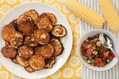 Corn Fritters With Summer Salsa   : Lifestyles