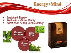 Javita - Energy + Mind gives you the clarity you need to get you through your busy day!
