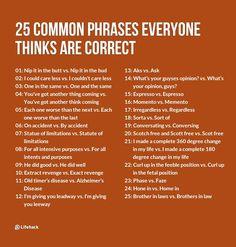 You may be using these phrases wrong.
