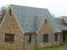 A blend of slate colors can be supplied to create a truly unique roof. North Country offers design suggestions on color, size, thickness and installation techniques which will produce a spectacular custom roof.