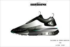 Designed by Erdem Derdiyok for Letoon sport #art #istanbul #footwear #design #turkey #ny