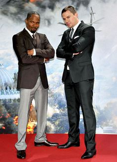 Guten Tag-in' It Jamie Foxx and Channing Tatum promoted White House Down at the flick's Berlin premiere Sept. 2.