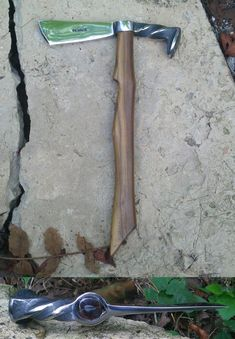 Railroad Spike Art | Final Railroad Spike Tomahawk by Logan-Pearce