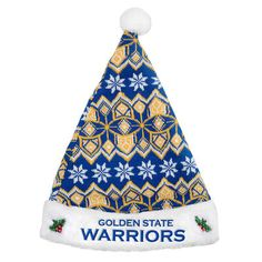 @gswarriors #DubNation Knit Santa Hat for the Champs!