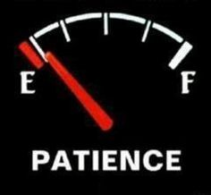 My patience is near empty - Funny Pictures & Funny jokes
