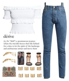 """""""Ginuwine-In Those Jeans"""" by platinum-puta ❤ liked on Polyvore featuring Vetements, Maison Margiela, Gucci and Yves Saint Laurent"""