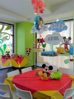 Decoración de Mickey