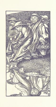 Year: 1893 - Source: Goblin Market ... Illustrated by L. Housman. L.P - Provenance: The British Library - Licence: Public Domain