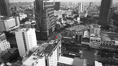 Ho Chi Minh City view from the Sheraton bar.