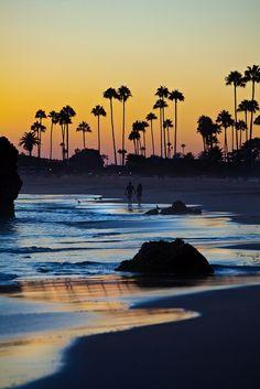 Sunset in Corona Del Mar California.......