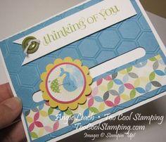 Carmen's Whale Spinner Card  ~TooCoolStamping.com