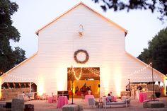 Chic White Barn