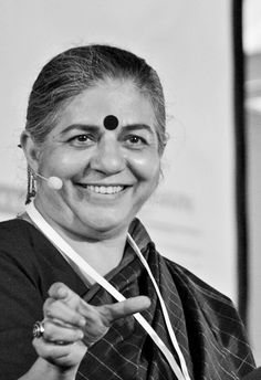 Dr. Vandana Shiva, activist and author.