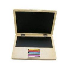 Kaper Kidz Wooden Notebook laptop/blackboard