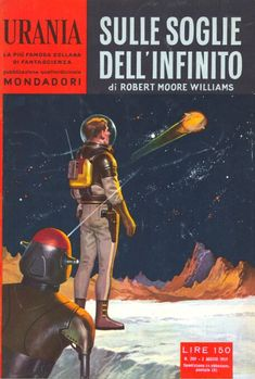 209 SULLE SOGLIE DELL'INFINITO 2/8/1959 CONQUEST OF THE SPACE SEA (1955) Copertina di Carlo Jacono ROBERT MOORE WILLIAMS
