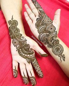 Photo By Rajasthani Mehndi Art Kerela Kochi - Mehendi Artist Latest Arabic Mehndi Designs, Henna Tattoo Designs Simple, Back Hand Mehndi Designs, Full Hand Mehndi Designs, Mehndi Designs For Girls, Mehndi Designs For Beginners, Mehndi Design Photos, Mehndi Designs For Fingers, Latest Mehndi Designs