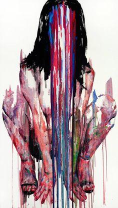 "Saatchi Art Artist KwangHo Shin; Painting, ""[228] untitled oil on canvas 193.9 x 130.3 cm 2013"" #art"