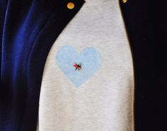 Hold me closer, tiny dancer (on a sweatshirt). Via Ducklings In A Row