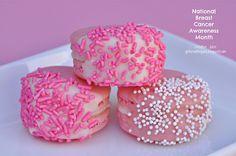 {MACARONS} breast cancer awareness - Creative Juice
