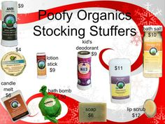 Black Friday through Cyber Monday sale. Organic products at affordable prices. Valery.poofyorganics.com
