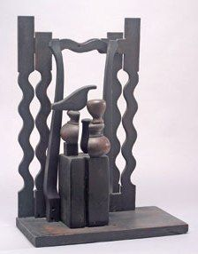 Louise Nevelson - this is also in a larger version on 92nd Street and Park Avenue in Manhattan, New York City.