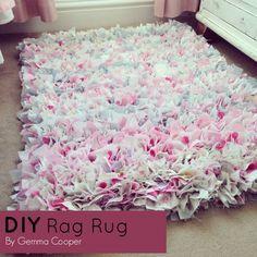 Gemma Cooper shares her tutorial for her Rag Rug