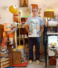 Andy DuCett's Nerd Cave Studio Tour  @Jennifer Boatman