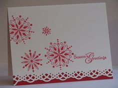 Stampin Up set that I've had for years...nice use...simple and elegant